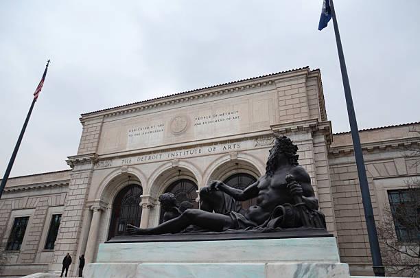 Detroit Institute of Arts stock photo