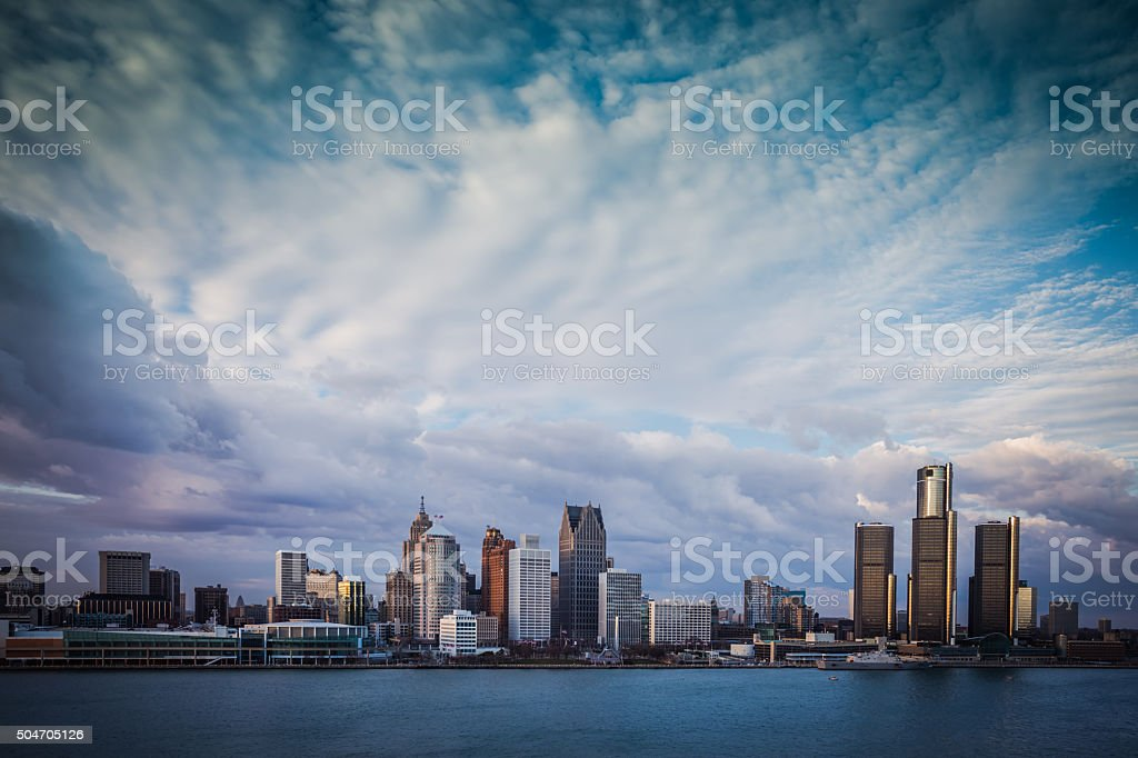 Detroit, MI stock photo