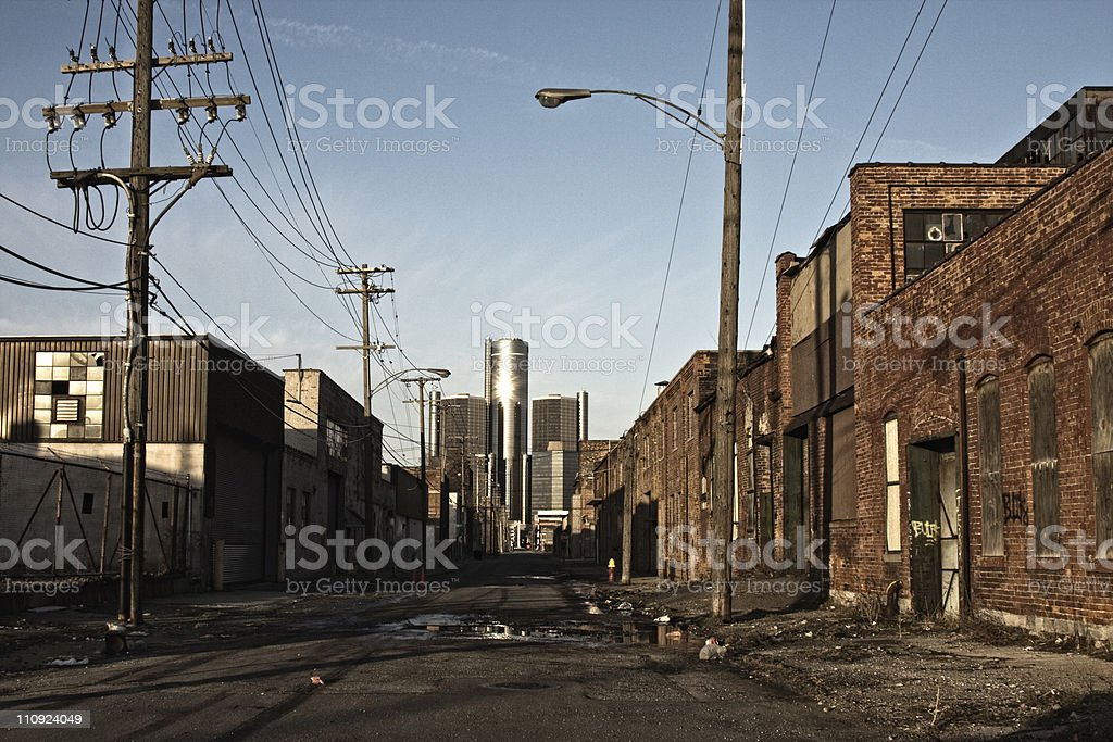 Detroit stock photo