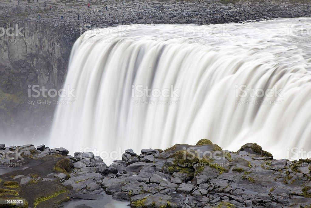 Dettifoss waterfall, Iceland royalty-free stock photo