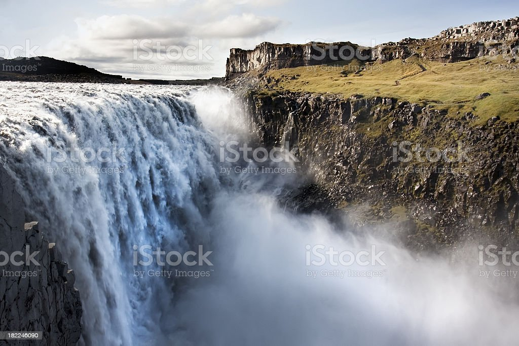 Dettifoss Waterfalls in Iceland royalty-free stock photo
