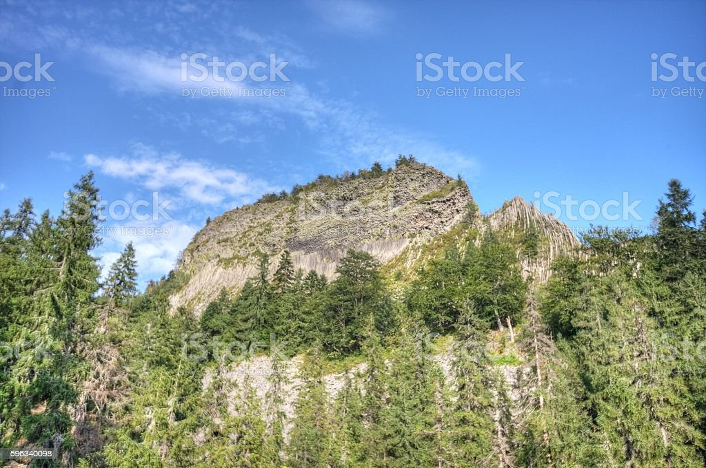 Detunata Mountains royalty-free stock photo