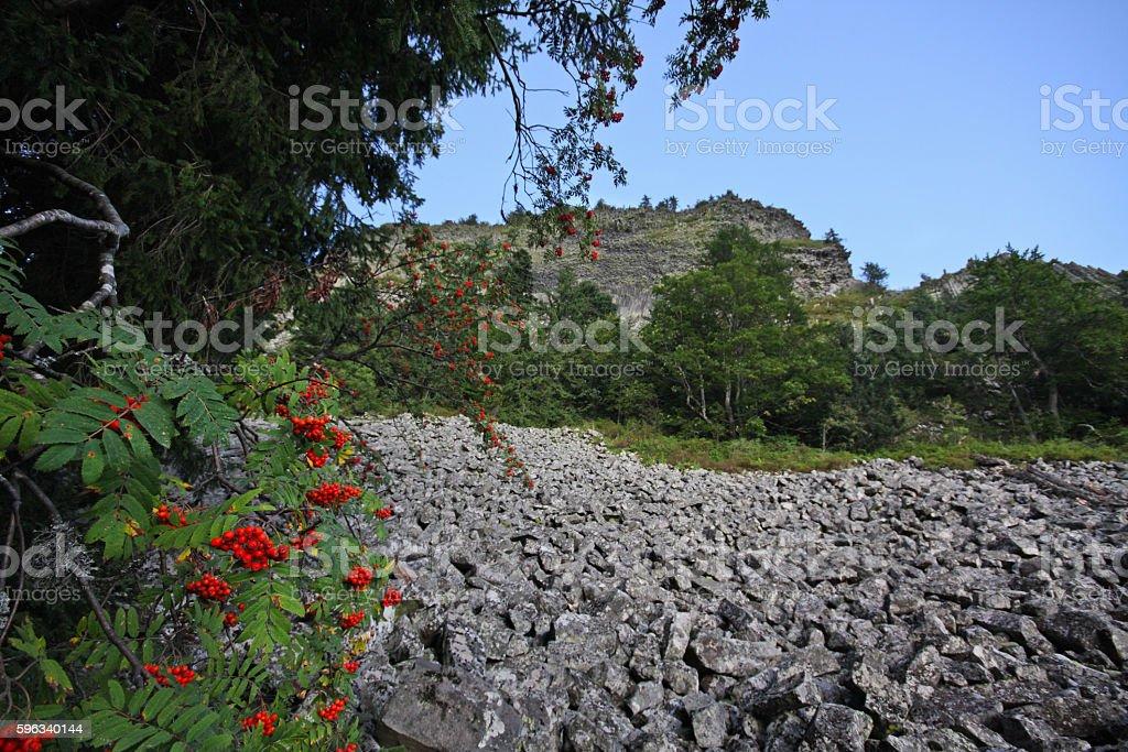 Detunata Berge Lizenzfreies stock-foto