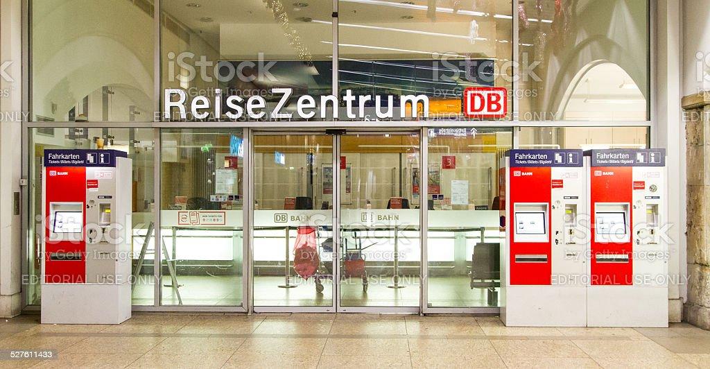 Deutsche Bahn - Service Center stock photo