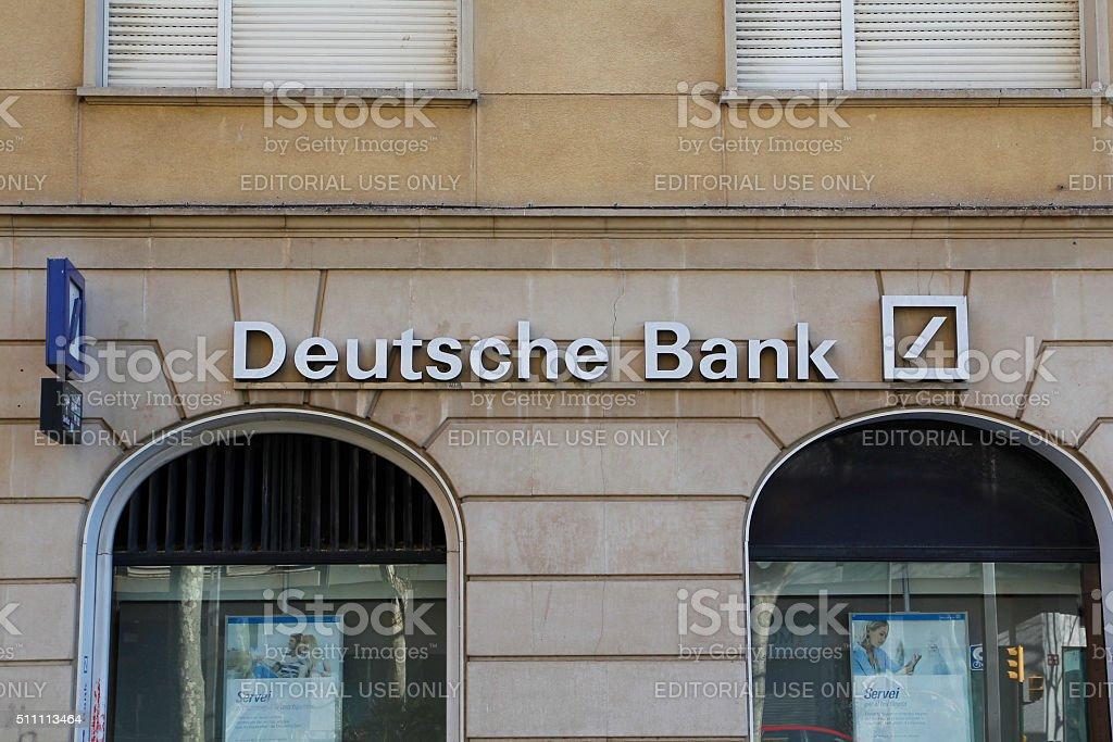 Deutsche Bank Stock Photo More Pictures Of Advertisement Istock