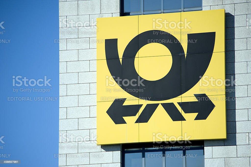 Deutsche Post AG  Logo royalty-free stock photo