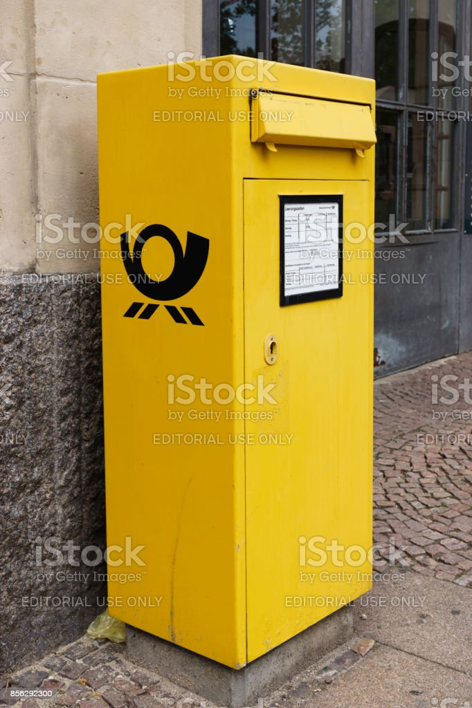 Deutsche Post Postcard