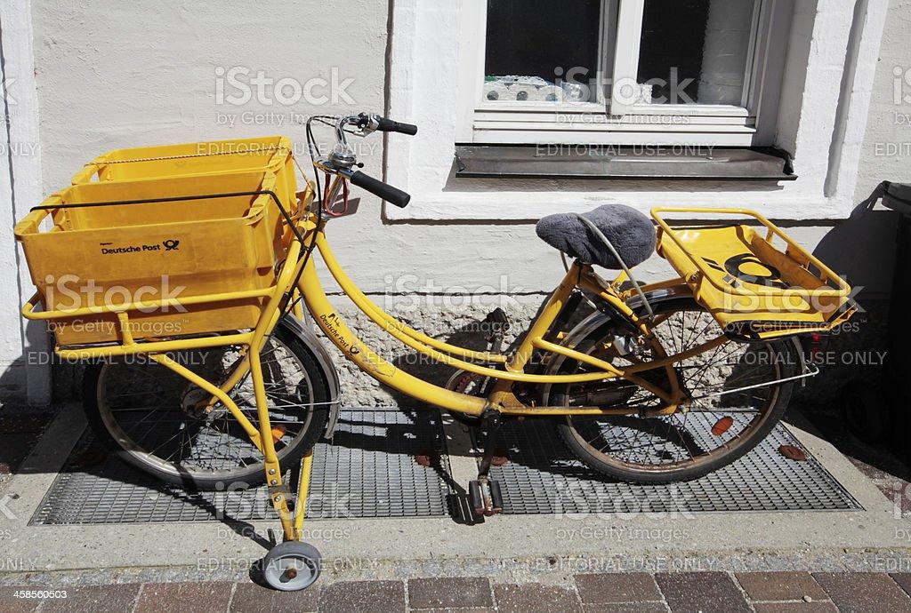 Deutsche Post royalty-free stock photo