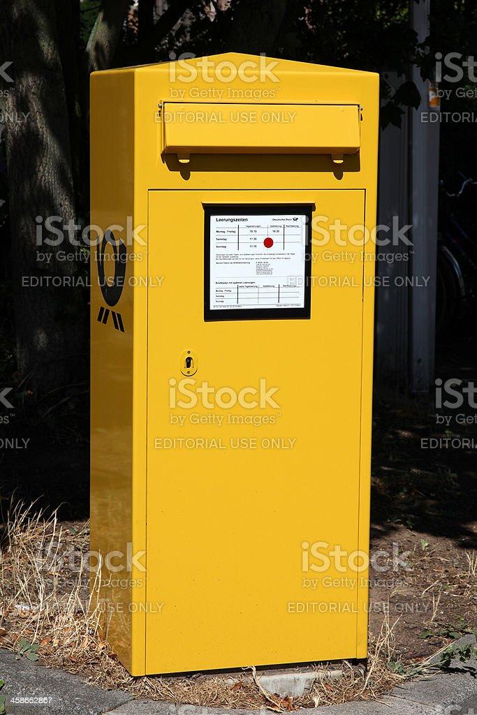 Deutsche Post stock photo