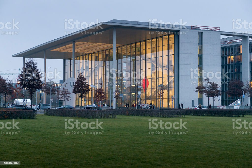 Deutschland, Berlin, das Paul-Loebe-Haus stock photo