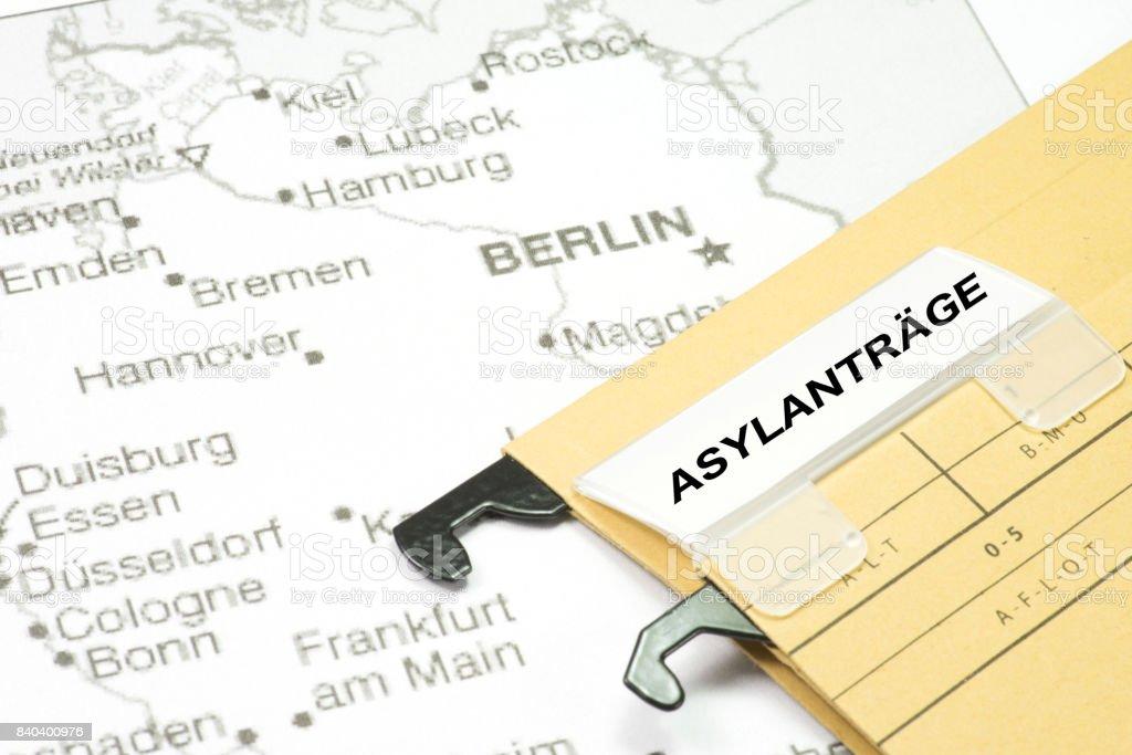 Deutschland Und Asyl – Foto