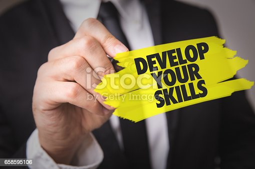1063657732 istock photo Develop Your Skills 658595106