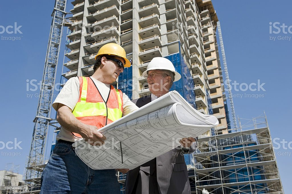 Developer & Contractor royalty-free stock photo