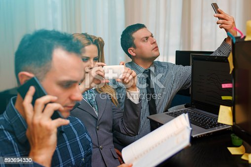 istock Developers at work 893694330