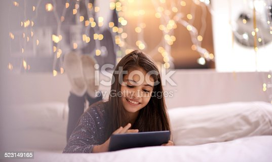 istock Developing her mind the digital way 523149165