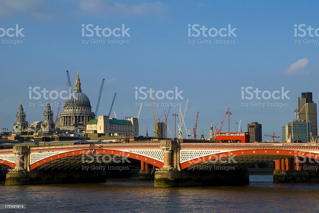 Developing London royalty-free stock photo