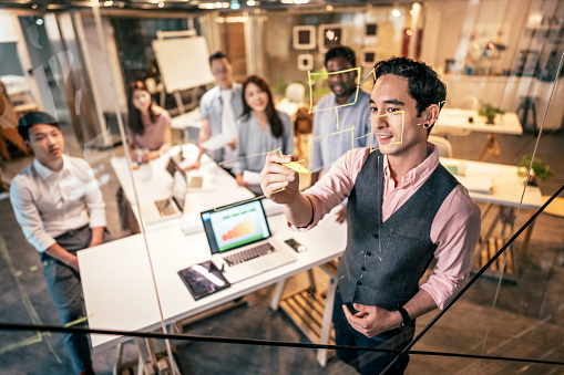 istock Developing New Business Strategy 1160576241