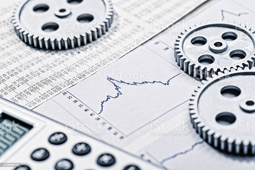 Development of the economy stock photo