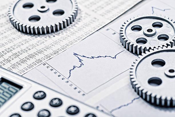 Development of the economy stock photo