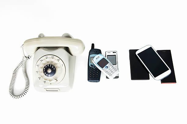 Development of the telephone bildbanksfoto