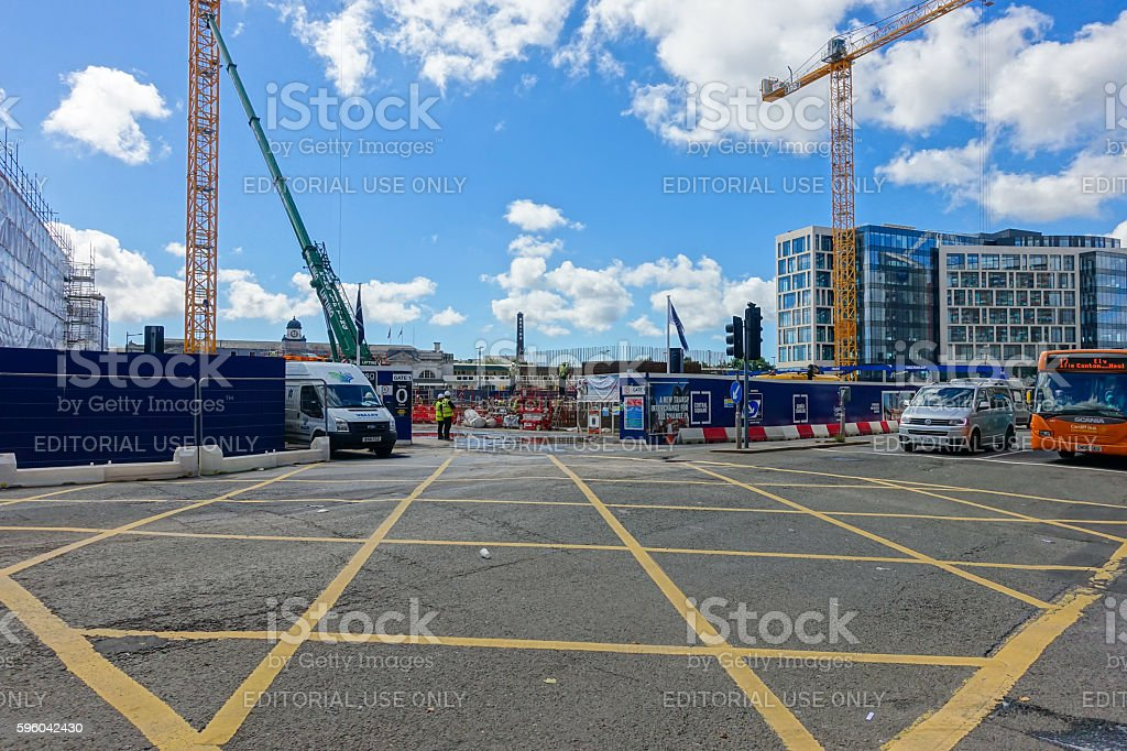 Development on the site of the old bus station in Cardiff – Foto