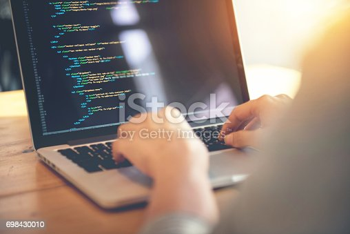 istock Development web, developer. 698430010