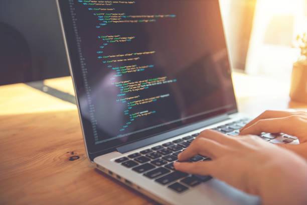 development web, developer. - computer language stock photos and pictures