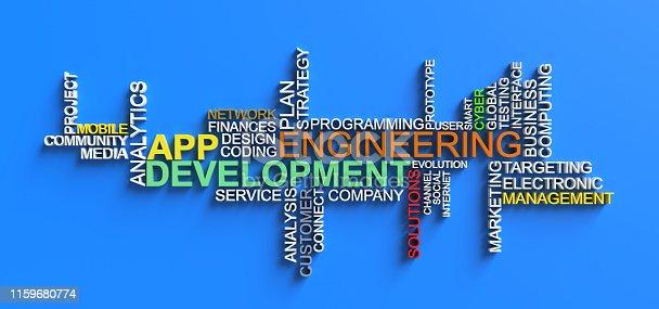 1180722244 istock photo Development,Engineering,APP 1159680774