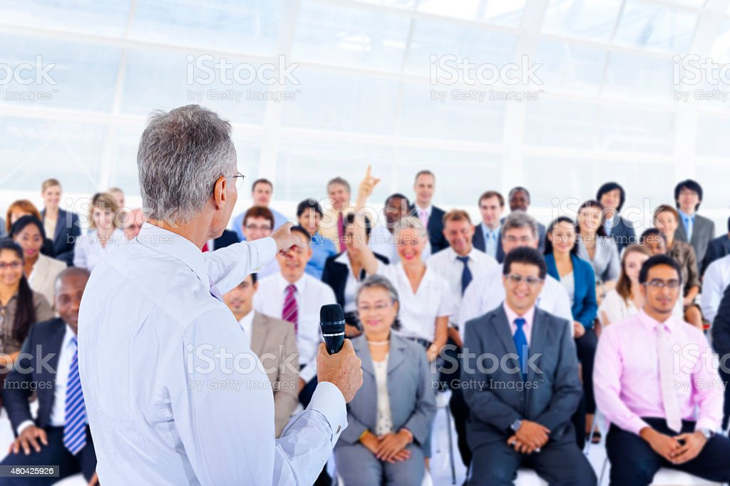 Deversity Business People Corporate Team Seminar Concept stock photo