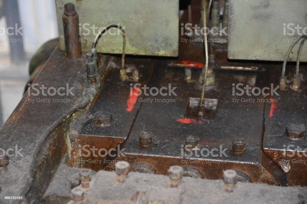 A device for making weapons and ammunition - Foto stock royalty-free di Arma da fuoco