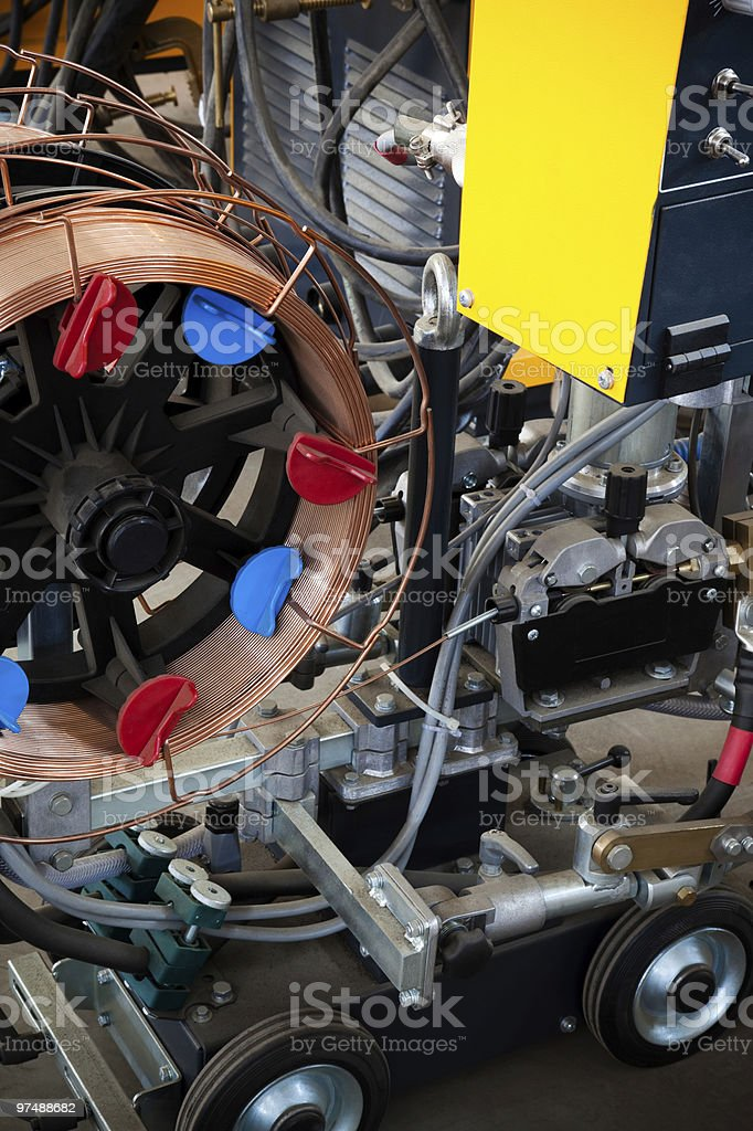 device for welding royalty-free stock photo