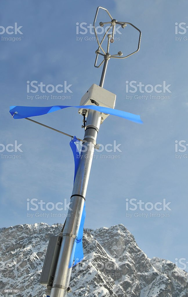 Device for Wind Measurment royalty-free stock photo