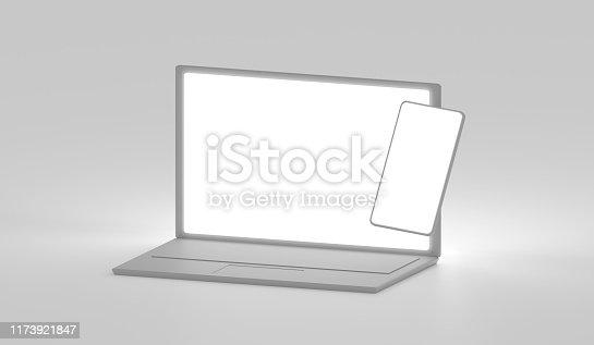 1173922060 istock photo Devices mockup 1173921847