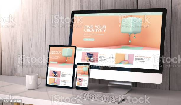 Devices responsive on workspace creativity website graphic design picture id1061329208?b=1&k=6&m=1061329208&s=612x612&h=ufabqqoehfnclsaahb  92ydrkmgjoo3ic5fpcirj7a=