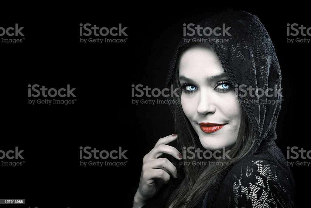 Devil Beauty stock photo