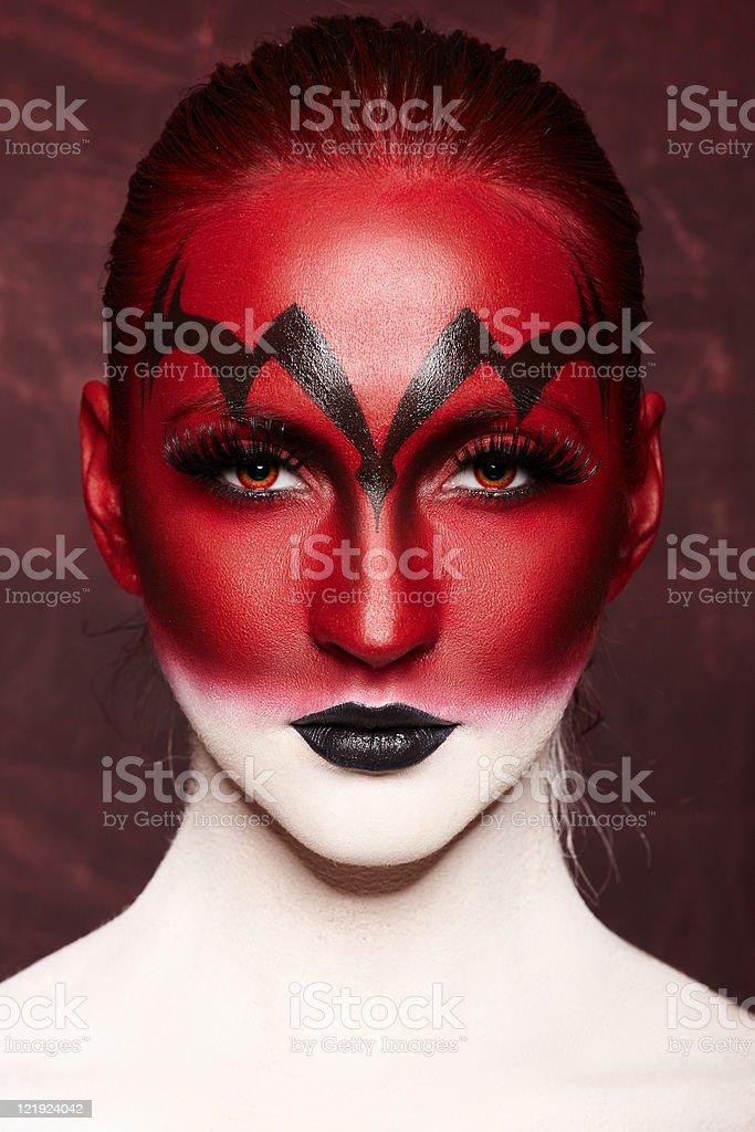 Devil royalty-free stock photo