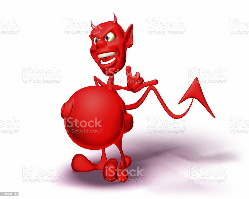Devil foto de stock libre de derechos