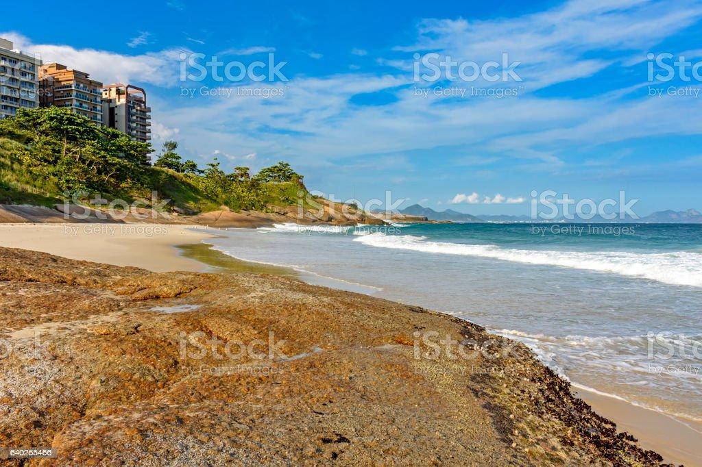 Devil's beach stock photo