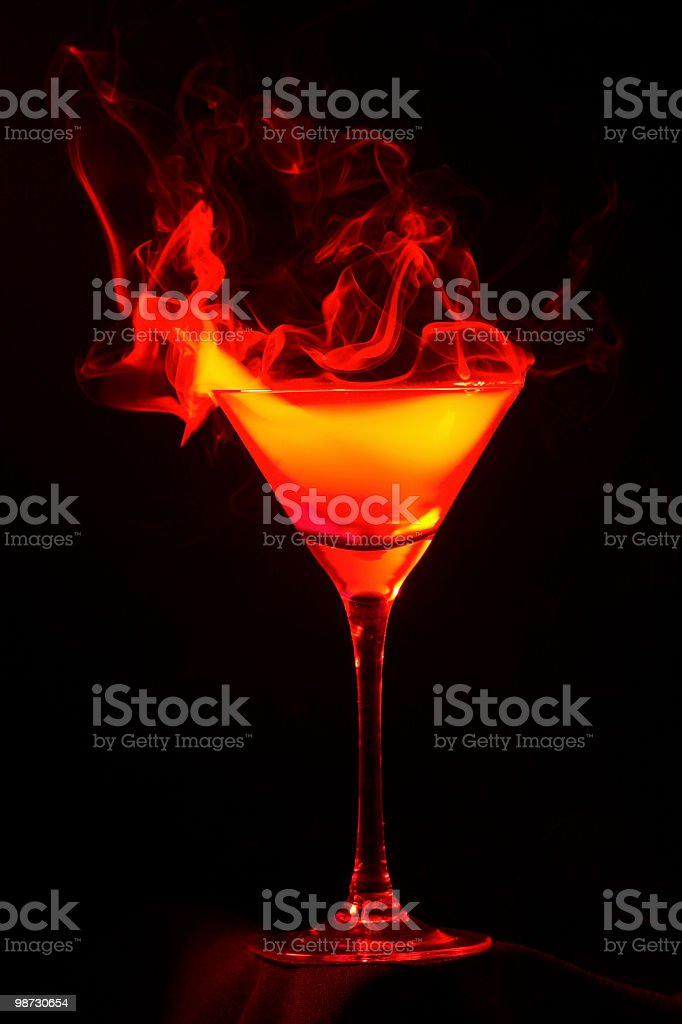 Devil's drink royalty-free stock photo