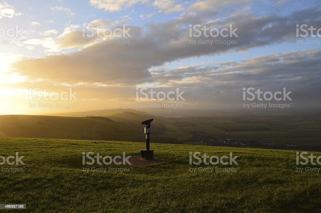 Devils Dyke, Sussex,England. stock photo