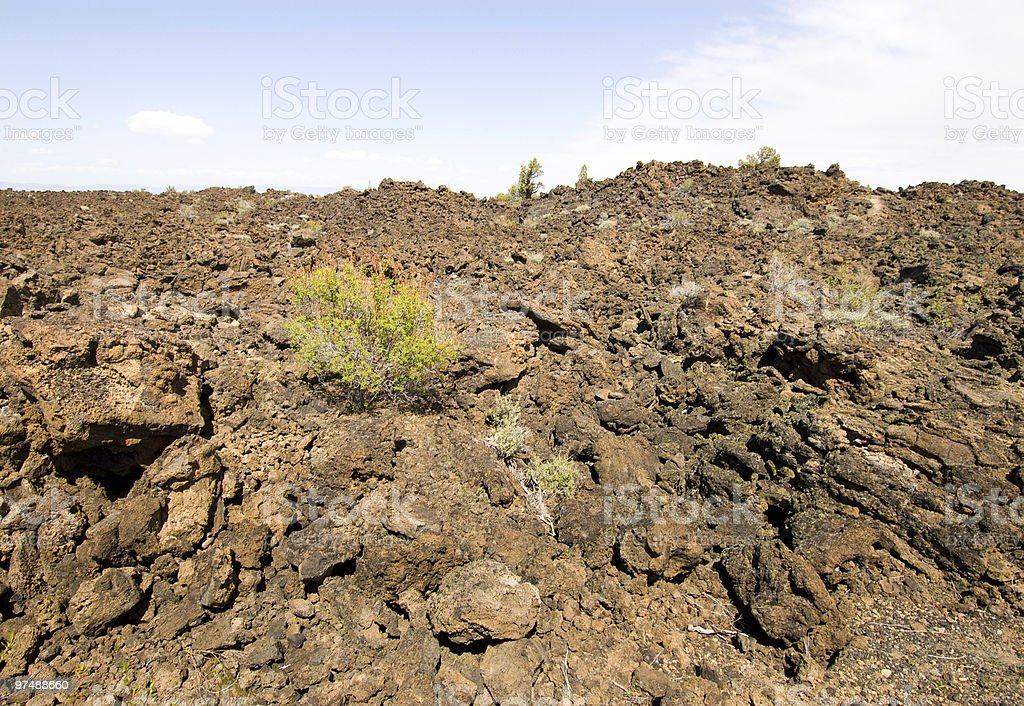 devil's homestead lava flow royalty-free stock photo
