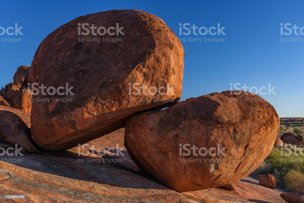 Devils Marbles 05 stock photo