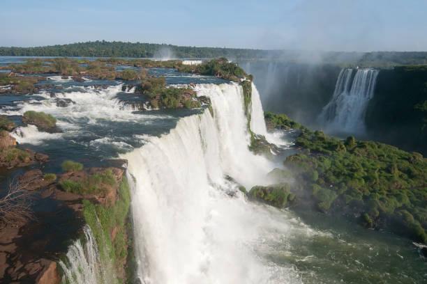 Teufelskehle (Garganta del Diablo) von den Iguazu-Wasserfällen, – Foto
