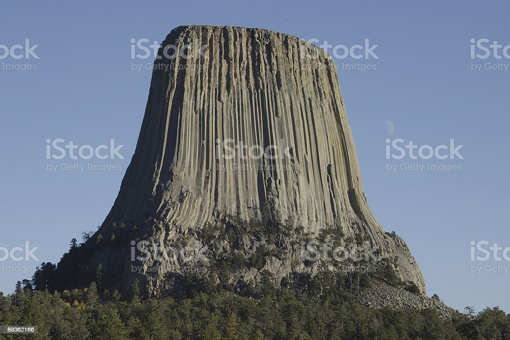 Devils Tower photo libre de droits
