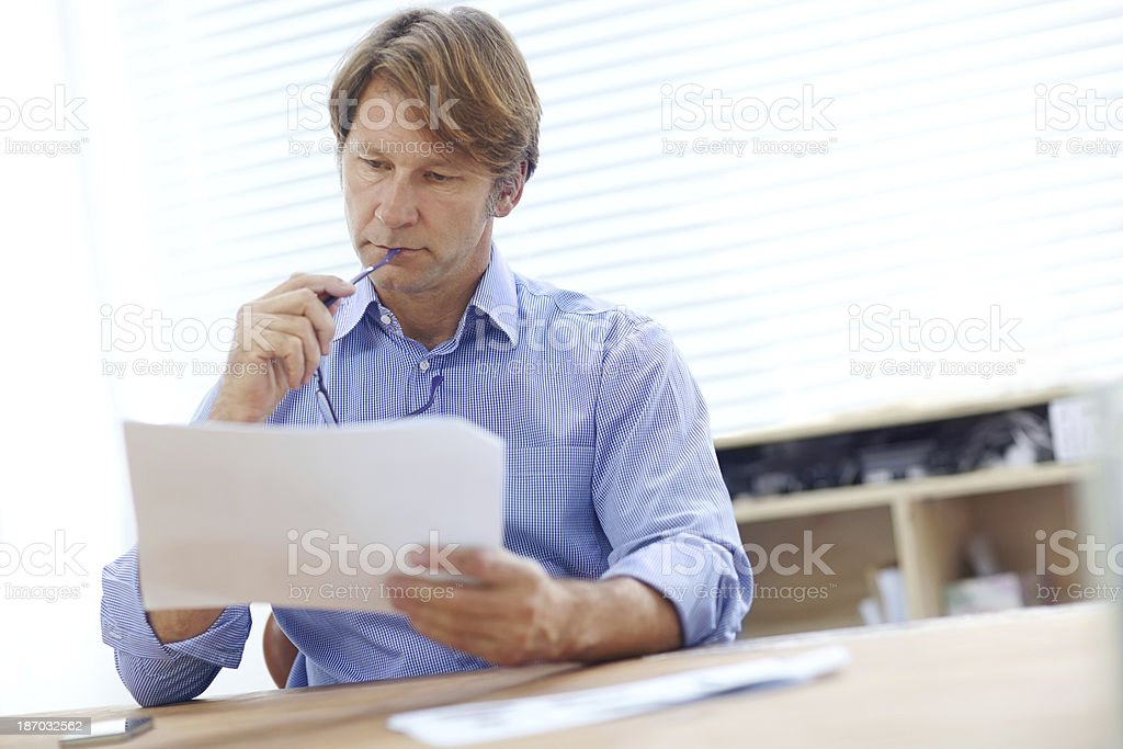 Devising solutions royalty-free stock photo
