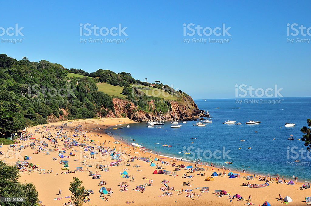 Devon Beach stock photo