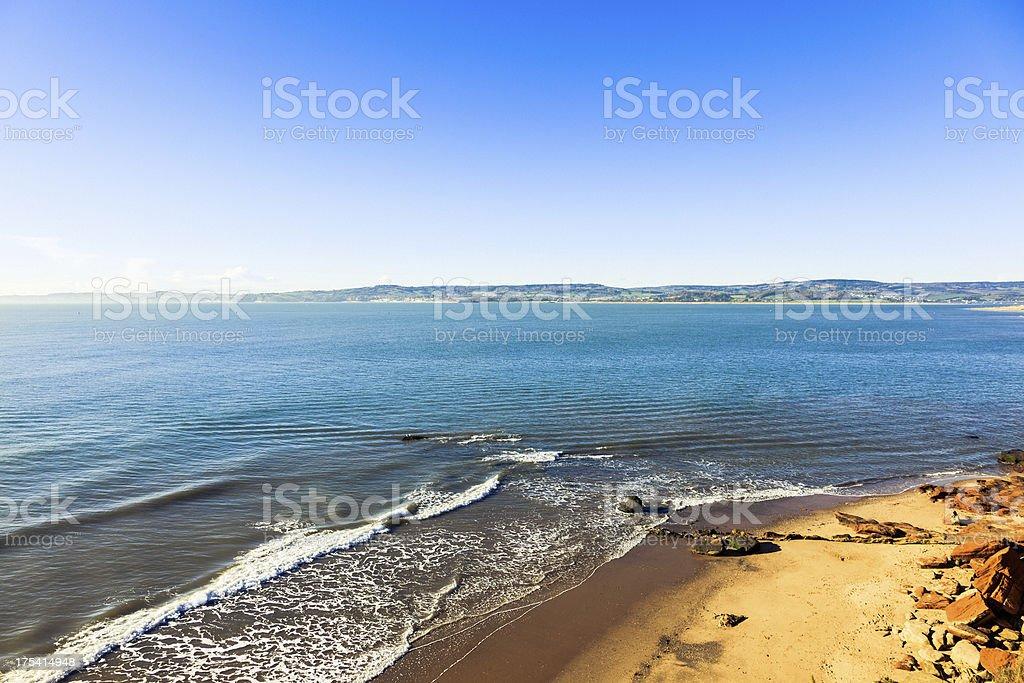Devon coastline, England stock photo