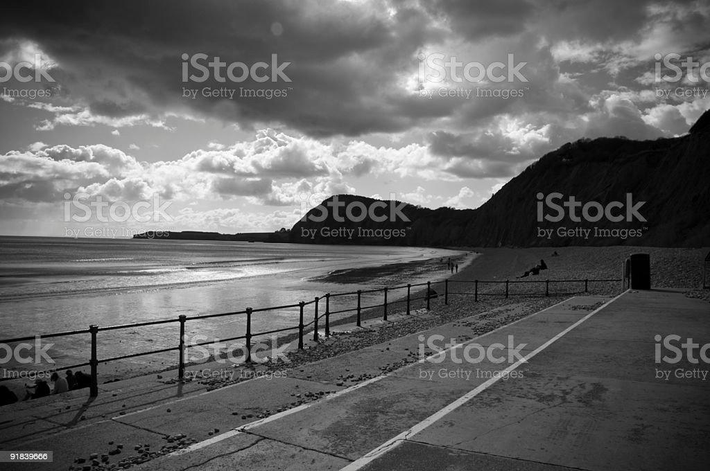 Devon coastline royalty-free stock photo