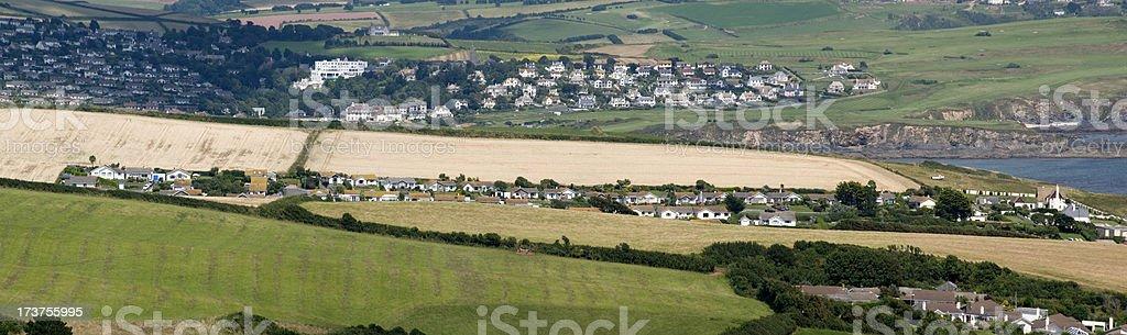 devon countryside royalty-free stock photo
