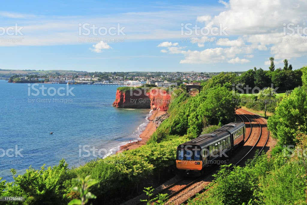 Devon Train stock photo